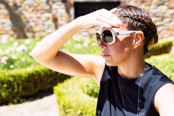 Cristina Lodi, occhiali fendi, fontebussi resort